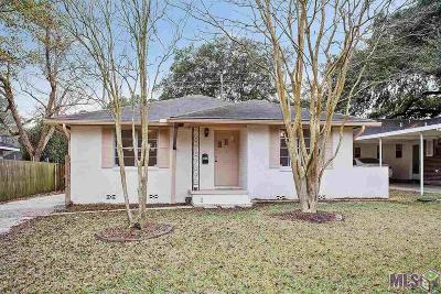 Baton Rouge Single Family Home For Sale: 3212 Myrtle Ave