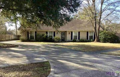 Baton Rouge LA Single Family Home For Sale: $369,000