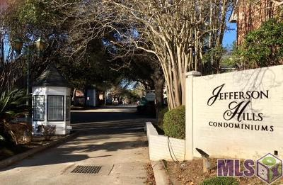 Baton Rouge Condo/Townhouse For Sale: 9851 Jefferson Hwy #H-18