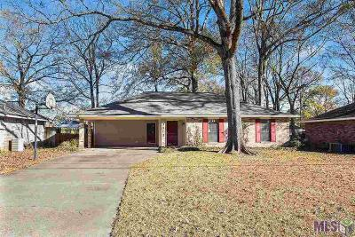 Zachary Single Family Home For Sale: 3813 Cypress Park