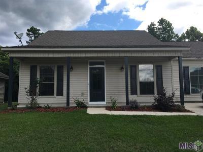 Denham Springs Single Family Home For Sale: 15076 Mill Settlement Trace