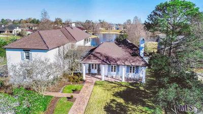 Baton Rouge Single Family Home For Sale: 19421 N Muirfield Cir