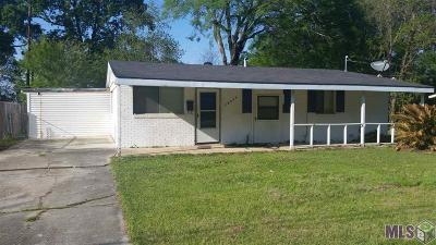 Baton Rouge LA Single Family Home For Sale: $70,000