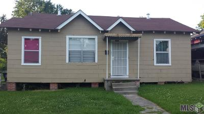 Baton Rouge LA Single Family Home For Sale: $60,000