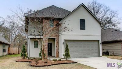 Denham Springs Single Family Home For Sale: 10069 Serene Rd