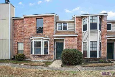 Baton Rouge LA Condo/Townhouse For Sale: $135,000