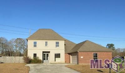 Denham Springs Single Family Home For Sale: 26375 Pinecrest