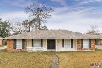 Baton Rouge Single Family Home For Sale: 1115 Leycester Dr
