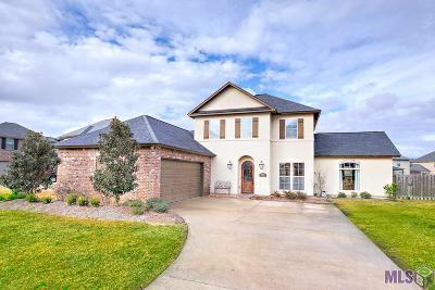 Prairieville Single Family Home For Sale: 18656 Lake Harbor Ln