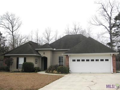 Gonzales Single Family Home For Sale: 14423 Lake Crossing Dr