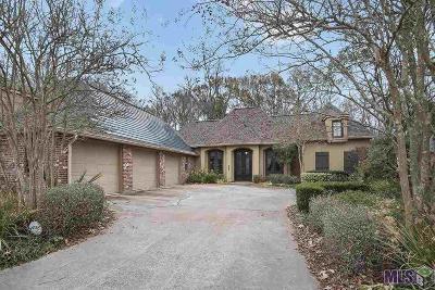 Prairieville Single Family Home For Sale: 18590 Manchac Highlands Dr