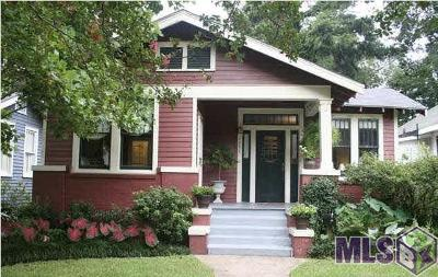 Baton Rouge Single Family Home For Sale: 1956 Wisteria