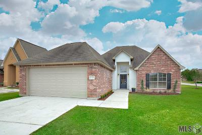 Denham Springs Single Family Home For Sale: 11328 Meadow View Dr