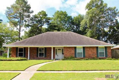 Baton Rouge Single Family Home For Sale: 12328 Warwick Ave