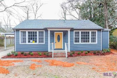 Baton Rouge Single Family Home For Sale: 4124 Palm St