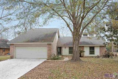Prairieville Single Family Home For Sale: 17506 N Summerfield Rd