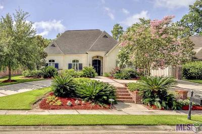 Baton Rouge Single Family Home For Sale: 15461 Campanile Ct