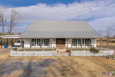 Prairieville Single Family Home For Sale: 18478 Alligator Bayou Rd