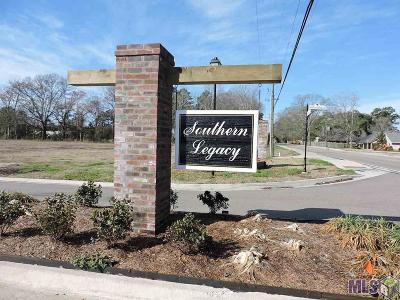 Denham Springs Residential Lots & Land For Sale: Lot 9 Southern Living Ln