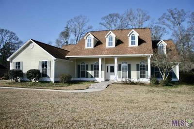 Greenwell Springs Single Family Home For Sale: 6421 Oak Cluster Dr