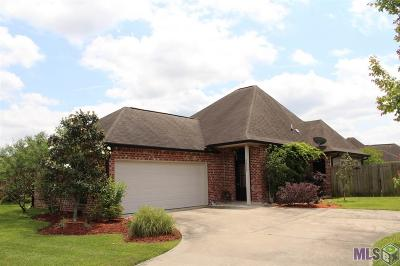 Gonzales Single Family Home For Sale: 40339 Creek Bend Dr