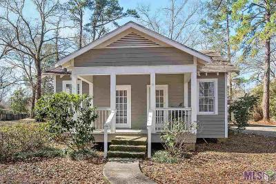 Denham Springs Single Family Home For Sale: 25703 Gill Rd