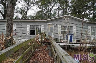 Denham Springs Single Family Home For Sale: 8524 Wayne St
