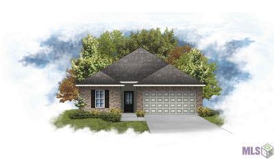 Denham Springs Single Family Home For Sale: 23101 Arcwood Dr
