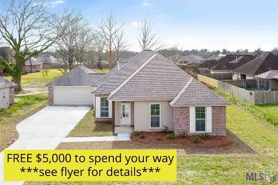 Prairieville Single Family Home For Sale: 42275 Devall Rd