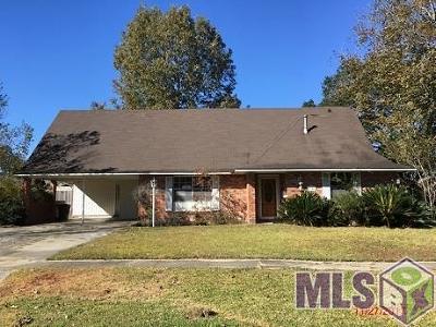Baton Rouge LA Single Family Home For Sale: $119,900