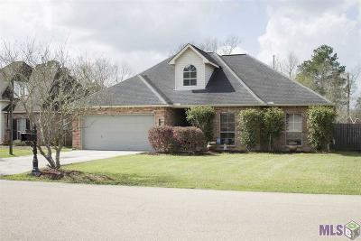 Denham Springs Single Family Home For Sale: 32425 Savannah Trace
