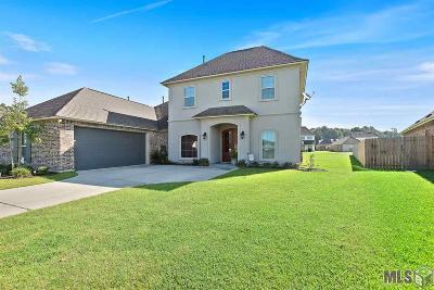 Denham Springs Single Family Home For Sale: 34000 Kingfisher