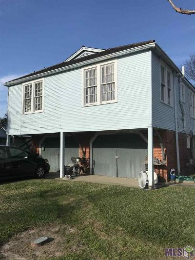 Plaquemine Single Family Home For Sale: 23825 First St