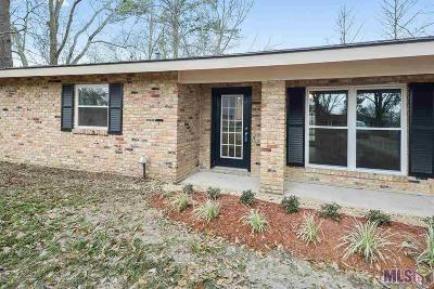 Gonzales Single Family Home For Sale: 41444 Bayou Narcisse