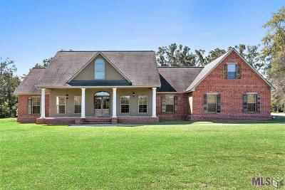 Denham Springs Single Family Home For Sale: 37409 La Hwy 16