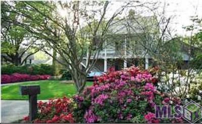 Baton Rouge Single Family Home For Sale: #2 Oak Alley