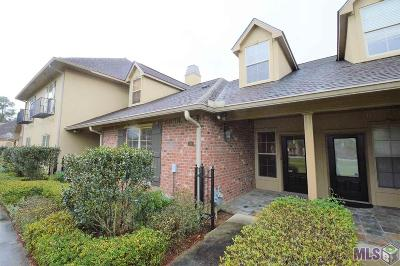 Prairieville Condo/Townhouse For Sale: 18639 Perkins Rd #10