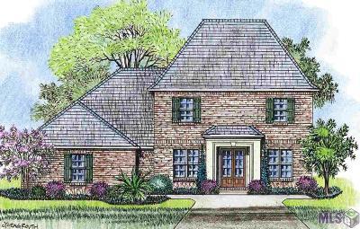 Denham Springs Single Family Home For Sale: 34151 Osprey