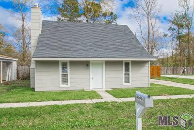 Prairieville Single Family Home For Sale: 44044 Lake Village Rd