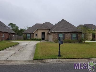 Gonzales Single Family Home For Sale: 13252 Babin Estates Dr