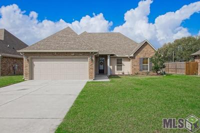 Gonzales Single Family Home For Sale: 14481 Stonegate Manor Dr