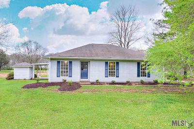 Zachary Single Family Home For Sale: 2915 Vernon Rd