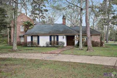 Baton Rouge Single Family Home For Sale: 5114 Woodlake Dr
