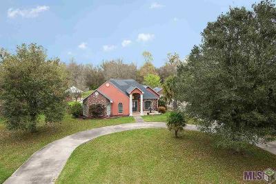 Denham Springs Single Family Home For Sale: 8224 Beechwood Dr