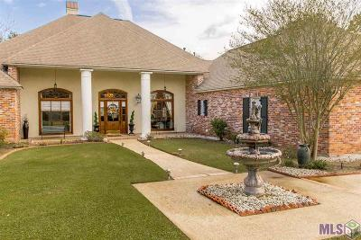 Prairieville Single Family Home For Sale: 18542 Perkins Rd