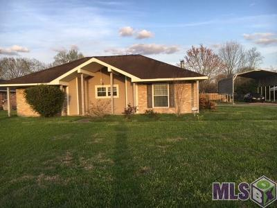 Prairieville Single Family Home For Sale: 17212 La Hwy 929