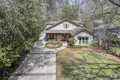 Baton Rouge Single Family Home For Sale: 4107 Hundred Oaks Ave