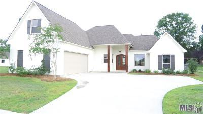 Denham Springs Single Family Home For Sale: Lot 11 Bessie Dr