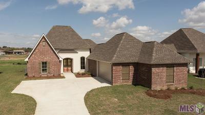 Denham Springs Single Family Home For Sale: Lot 50 Bessie Dr