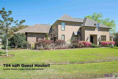Prairieville Single Family Home For Sale: 18651 Manchac Highlands Dr